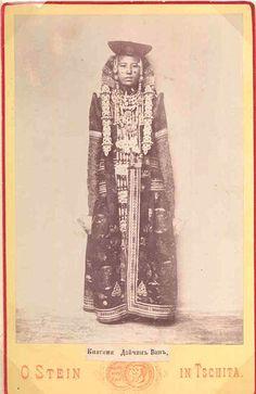 Princess Daichin Van  vintage album print on card  before 1900. #PhotojournalismTibet