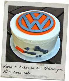 Volkswagen VW Cake - Father's Day-Worthy Man Cakes