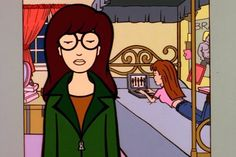 38 Perfect Pop Culture Halloween Costumes For Sisters Daria and Quinn From Daria