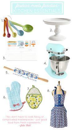 Fashion Meets Function: Chic Kitchen Essentials