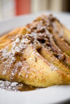 Bourbon French Toast.    http://www.thespir.it/articles/bourbon-for-breakfast/