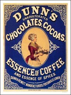 AP2137 - Dunn's Chocolate, Cocoa and Coffee (30x40cm Art Print)