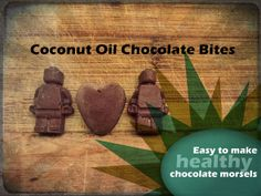 Coconut Oil Chocolate Bites | Love It Learn It Make It