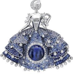 "Van Cleef Arpels inspired by a fairy tale ""Peau d'Âne""."