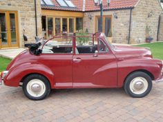 Georgous red 1968 convertible moggy