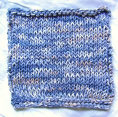 Cottage Blues Dish cloth by AJoyfulCreation on Etsy, $6.00