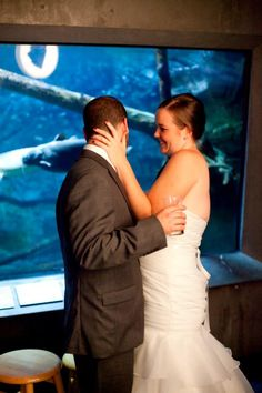 Love in front of the Lake Tank | John R. Andersen Photography