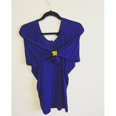 Royal blue loose fit long sleeve Great condition, in a beautiful blue color. Looks cute paired with skinny jeans and an oversized scarf. Tea n rose Tops Blouses