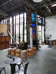LOFT CONNEXION , by Samuel Johde: Atelier d'artiste Paris 7e - Rue du Cherche Midi