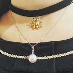 When punk meets pearl  #珍珠 #真珠 #アコヤ #銀座 #jewelry #jewel #jewellery #jewelryforsale #jewellerylover #jewelrygram #jewels #necklace #necklaces #necklaceset #punk #punks #choker #pearl #pearls #ginza #tokyo #fashion #fashionaddict