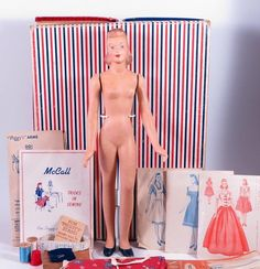 1940's Peggy Mannequin Doll Set by McCall