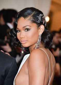 Chanel Iman in 2014