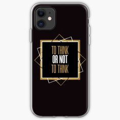 To think or not to think cool design for teenagers and not just. Everyone likes a good quote, quality and profesionalism. Tee Bag, Cute Designs, Teenagers, Cool Stuff, Stuff To Buy, Best Quotes, Phone Cases, Tees, T Shirt