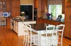 P.M. Services - Maple Kitchen Painted Islands