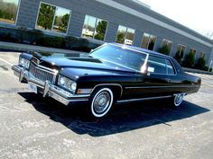 1973 Cadillac Coupe DeVille 14,038 miles Absolutely Stunning see more on http://oldcarraffles.com