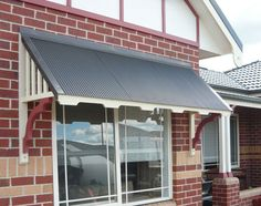 Trendy window awnings