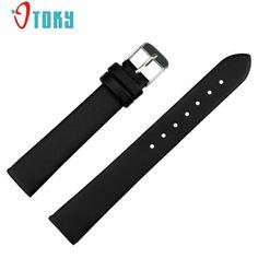 OTOKY 1 pc Soft Watch Accessories Watches Bracelet Belt Leather Band Watch Strap 16mm Watchbands #40 Gift #women, #men, #hats, #watches, #belts, #fashion, #style