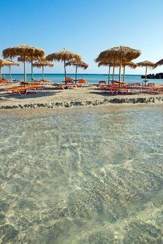 Elafonisi Beach, Greece Stock Photo