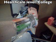 Health care level: College