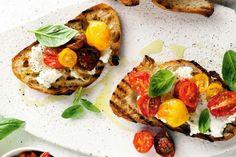 tomato and ricotta crostini more confit tomato cottage cheese crostini ...