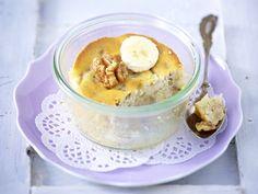Bananen-Walnuss-Kuchen im Glas