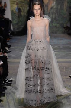 Valentino Spring 2014 Couture Showed in Paris This Week #Couture #Fashion
