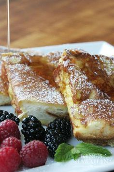 Nothing screams a holiday brunch recipe like a French toast with Aloha flair!