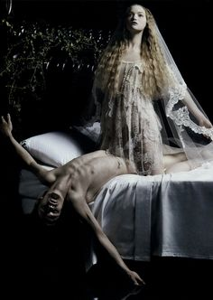 """""""Magnificent Excess"""" Gemma Ward by Mario Sorrenti for Vogue Italia 2"""