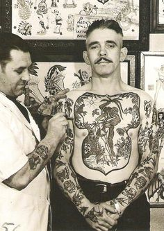 A very interesting collection of retro tattoos. A very interesting collection of retro tattoos. Retro Tattoos, Vintage Tattoos, Vintage Tattoo Design, Unique Tattoos, Small Tattoos, Marine Tattoos, Navy Tattoos, Sailor Tattoos, Disney Tattoos