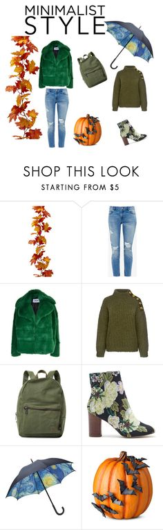 """""""style"""" by katja-partylady ❤ liked on Polyvore featuring Ted Baker, MSGM, Boutique Moschino, Herschel Supply Co., Sole Society and Improvements"""