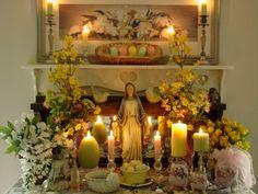 Ostara Altar