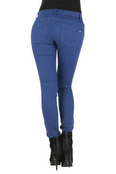 Only 15072920 Pants Skinny low liva Estate Blue