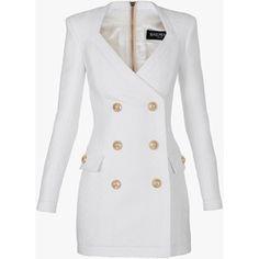 New dress long sleeve short 31 ideas Classy Outfits, Chic Outfits, Dress Outfits, Fashion Dresses, White Long Sleeve Dress, White Mini Dress, Dress Long, Dress Black, Elegantes Party Outfit