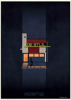 Italian architect and illustrator Federico Babina is back with a new series mixing architecture and illustrations : Archistyle. Building Facade, Building Design, Building Art, Hip Roof, Layout, Illustrations, Architecture Details, Minimalist Architecture, Art World
