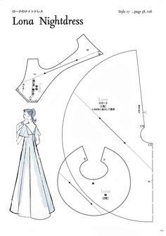 Lona Nightdress Pattern - Page 1 of 3