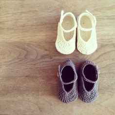 Simple Baby Shoes : *ricotto