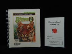 Bob Jones Science 2 Teacher Edition, Like New & Homeschool Report Card K5-5th GR #Textbook