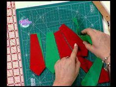 Carolina Rizzi - Bienvenidas TV - Explica como hacer un cubremantel en patchwork. - YouTube