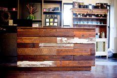 City Salon and Spa Makeover - Athens GA | Reclaimed Wood | Farm ...