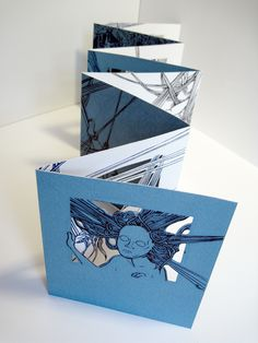 Molly Brooks :: Shadow Factory accordion book