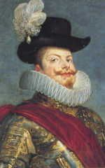 Filippo III (1578-1621), figlio di Filippo II e Anna Maria d'Austria. Re dal 1598 al 1621.
