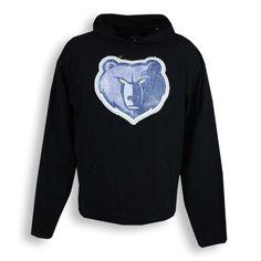 Memphis Grizzlies Sportiqe Patch Fly Hoody - Black