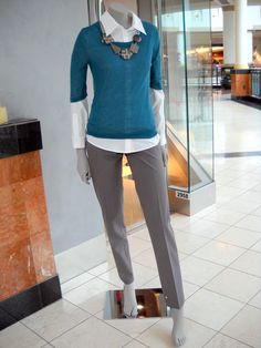 Teal is great for fall!