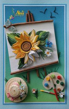 Neli Quilling Art: Youngest Artist