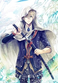 So beautiful i think i fall in love with you after watched touken ranbu Got Anime, Art Manga, Chica Anime Manga, Manga Boy, Anime Art, Cool Anime Guys, Hot Anime Boy, I Love Anime, Anime Boys