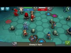 Epic Arena Missions - Epic Arena is a Free to Play TBS [Turn Based Strategy] MMO Game with Turn Based battles