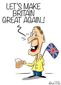 Dino (2016-06-27) MAKE BRITAIN GREAT AGAIN? Are British the European rednecks? Brexit UK EU