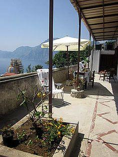 Ferienwohnung: Casa dei Fiori in Praiano - Viel Platz zum Entspannen. www.amalfi-ferien.de