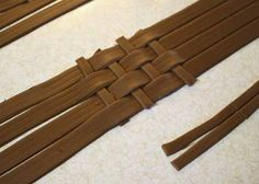 How to Make Fondant Basketweave 15