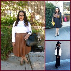 """Fall into Fashion"" by Rochelle Johnson of Beauticurve, Eye on Style"